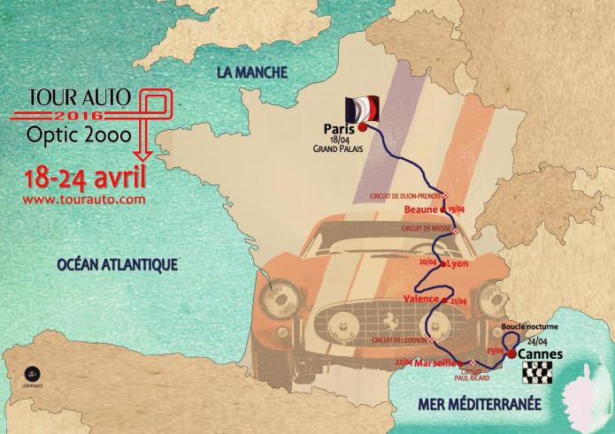 Tour Auto 2016